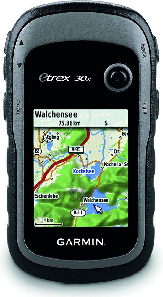 Le GPS de randonnée Garmin E-trex 30x